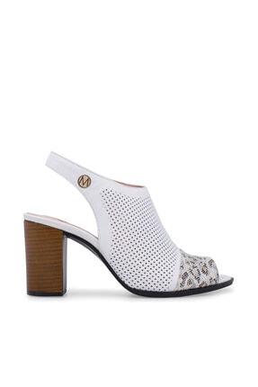 Beyaz Kadın Sandalet 5274082VD