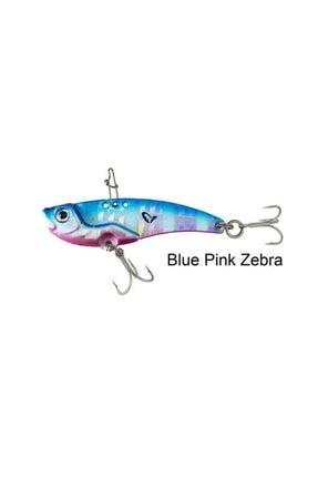 3d Vıb Blade 3.5cm 4gr Suni Yem Blue Pink Zebra vıb4.60