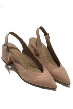 Günlük Kullanım Için Pudra Kadın Topuklu Ayakkabı 720
