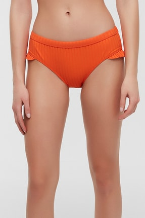 Kadın Sunset Frill Hipster Bikini Altı PLTHQ4OX20IY-RG2