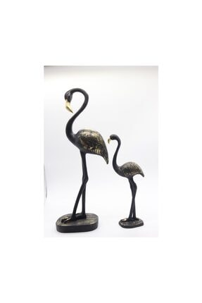 Dekoratif 2'li Flamingo Biblo ART014