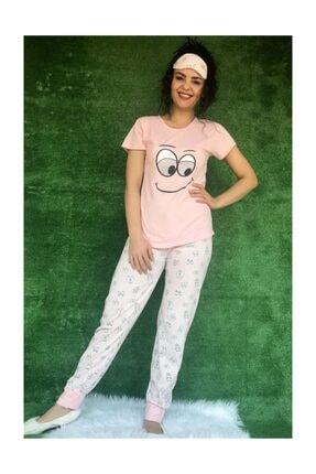 Baskılı Pijama Takımı 1453 Pijama Takımı Desenli M20200422133611