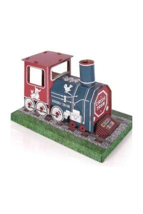 Karton Maket Boyama Treni 3 PRFKTPOYUNEV3