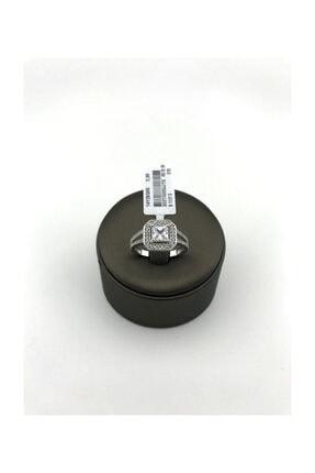2.98 Gram 14 Ayar Altın Baget Yüzük Swarovski Taş X02T0000JJ1X