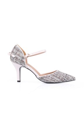 Gabriela Gri Topuklu Ayakkabı GRİ