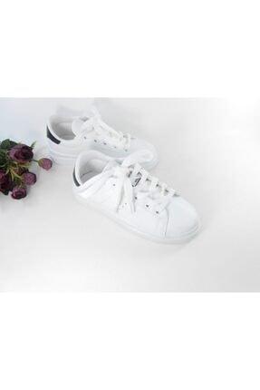 Beyaz Kadın Spor Ayakkabı 19807
