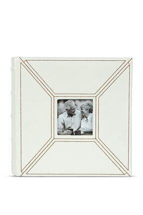 Beyaz Deri Albüm 4x6 (10x15) 46200a 46200D-1221