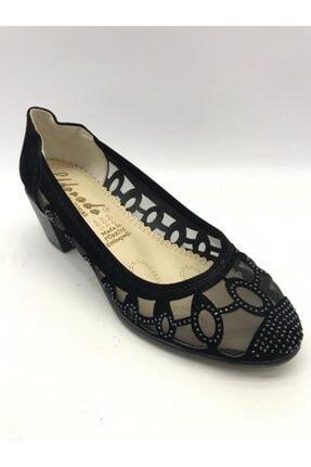 Kısa Topuk Topuklu Ayakkabı eld016