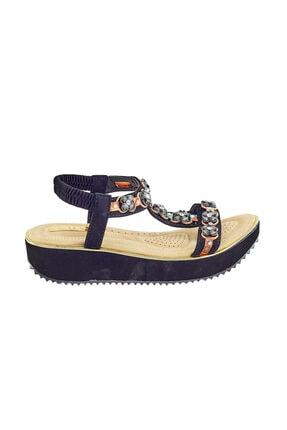 237-11 Siyah Kadın Sandalet 2-237-11 SY