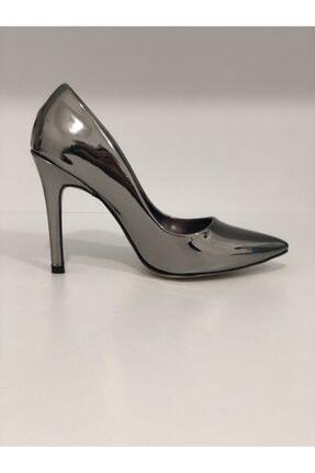 Platin Yüksek Topuklu Ayakkabı 153PLATİN