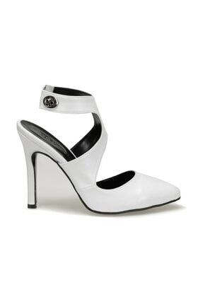 Beyaz Kadın Topuklu Ayakkabı 000000000100450669