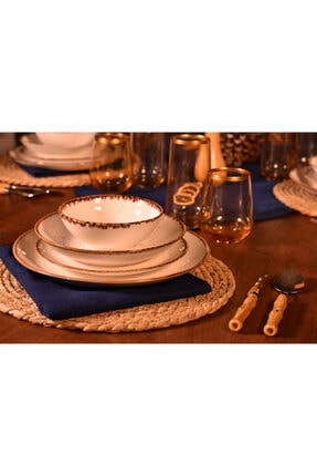 24 Parça Porselen Yemek Takimi B1734