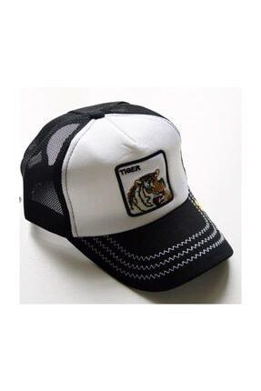 Tiger Işlemeli Şapka Hayvan Figürlü Şapka spk56