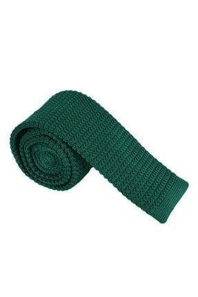 Zümrüt Yeşili Örme Kravat OK-88-ZÜMRÜT YEŞİLİ