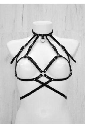 Seksi Giyim Deri Harness - Apft330 200625