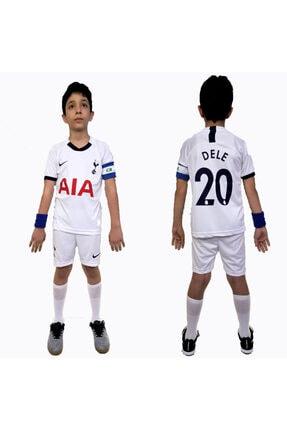 Tottenham Dele Çocuk +şort Takım Süper Kalite Nakış Işleme TOTTENHAM DELE