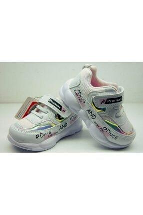 Beyaz Spor Kız Çocuk Ayakkabısı Bayram0007