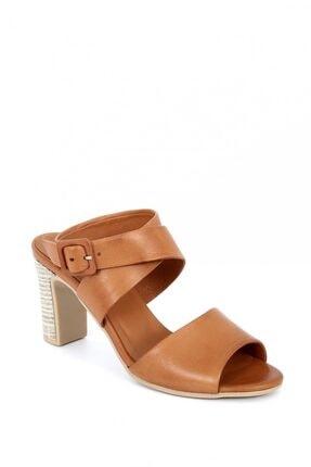 Kadın Taba Topuklu Ayakkabı 102049