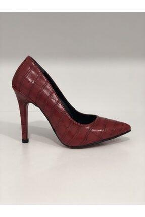 Kadın Kırmızı Yüksek Topuklu Ayakkabı 154KIRMIZI