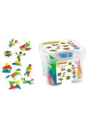 Toys Tangram Küçük Box ( 28 Parça ) 03152 T 22587979701315