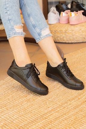 Siyah Kadın Sneaker BM-4000-20-101015