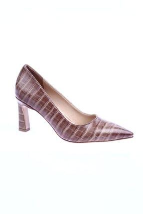 Le Scarpe 020 Kadın Sivri Burun Parmak Dekolteli Kısa Topuklu Ayakkabı 20y 020-1529