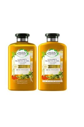 Şampuan Altın Moringa Yağı 400 Ml + Saç Bakım Kremi 360 Ml hylymr14262406