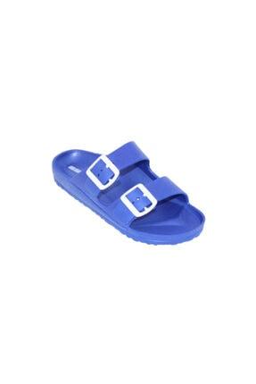 Kadın Eva Terlik Çift Tokalı Mavi RDPLYESM212Z001