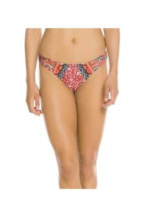 Agua Bendıta Kırmızı Desenli Bikini Alt 19YAF5206219T1
