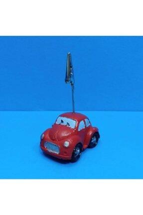 Dekoratif Not Tutacağı Kağıt Tutacağı Kırmızı Araba Tasarımlı dop6513560igo