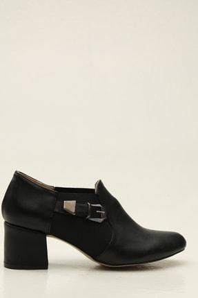 Siyah Kadın Klasik Topuklu Ayakkabı 5012-20-119185