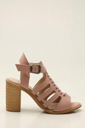 Pudra Kadın Klasik Topuklu Ayakkabı 5012-20-119184
