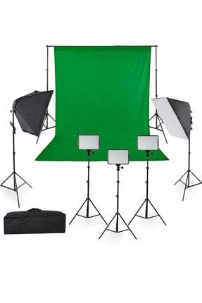 Youtube, Video Ve Fotoğraf Stüdyoları Için Sürekli Işık Led Panel + 5 Duylu Softbox Yp Deya-Set1-3