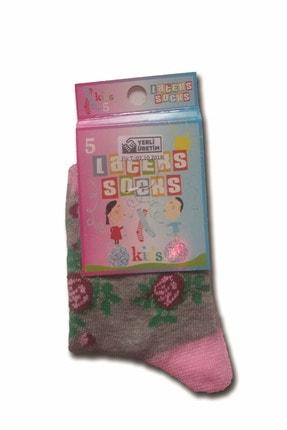 Kız Çocuk Karışık Çorap LTC-1105