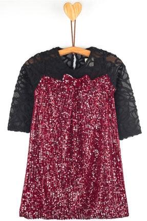 Dantelli Pullu Elbise LS4859
