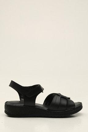 Siyah Kadın Sandalet 5012-20-123019