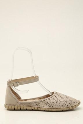 Bej Kadın Sandalet 5012-20-123005