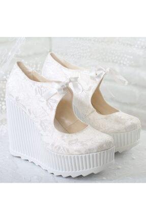 Gelin Dolgu Topuklu Ayakkabı A192YJNT0015