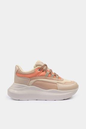 Bej Yaya Kadın Spor Ayakkabı 01AYY601280A315