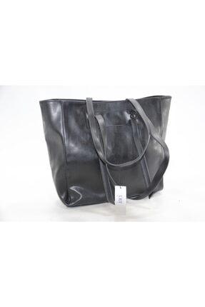 Kadın Siyah Suni Deri Çanta SL011