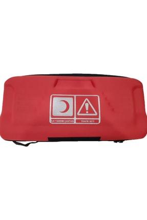 Trafik seti  eva çantalı lüx set- KIRMIZI RENK bll6069jgkgkz