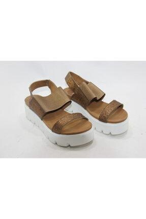 Kadın Kahverengi  Hakiki Deri Topuklu Ayakkabı FAY652
