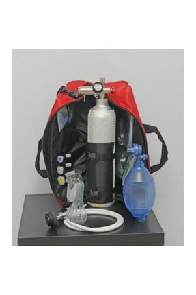3 Lt. Oksijen Tüpü Seti P.i. 0-25 Lpm MES.O2-025-3