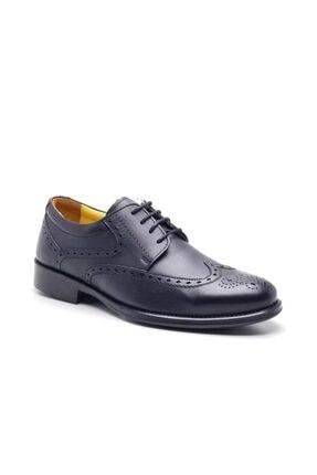2436 Hakiki Deri Erkek Ayakkabı Siyah CEYO 2436 SİYAH