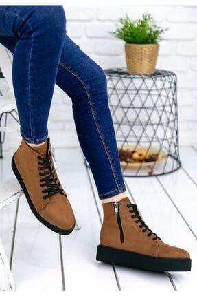 Kadın Comfort Bot Çizme Postal Ayakkabı Er195 T36023A