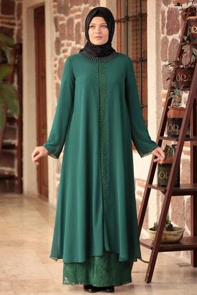 Kadın Merve Elbise Zümrüt THM004008
