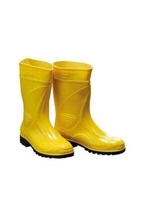 Erkek Sarı Kısa Çizme gezer kısa sarı çizme