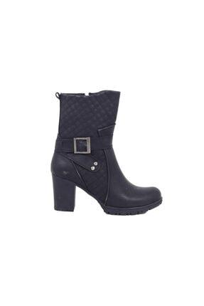 Kadın Siyah Bot Ayakkabı AL102