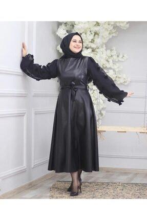 Tesettur Elbise ms derili elbise