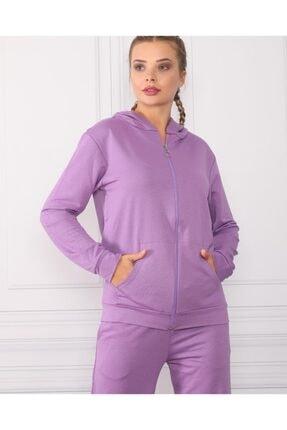 Kadın Mor Giyim Ikili Eşofman Takımı 2020197720530